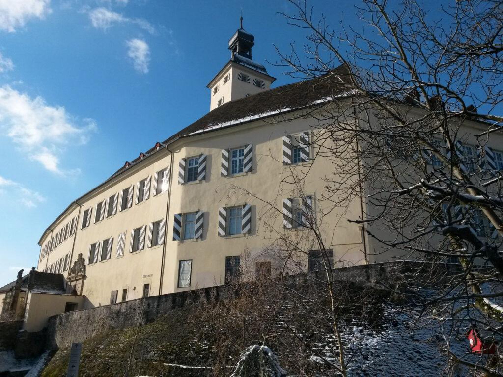 Das Schloss Horneck - Sitz der Stiftung Siebenbürgische Bibliothek, der Siebenbürgische Bibliothek mit Archiv
